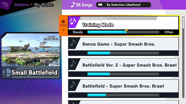 Super Smash Bros. Ultimate Small Battlefield My Music