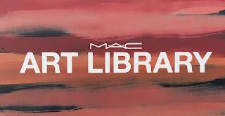 Review MAC Art Library Nude Model oogschaduw palette