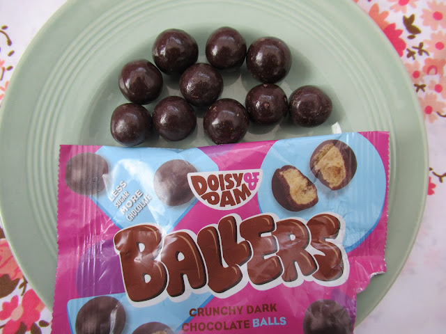 Vegan review - Doisy & Dam chocolate drops and crunchy balls. Vegan m&ms and malteasers, reviewed by UK vegan blogger secondhandsusie.blogspot.com #vegan #veganchocolate #doisyanddam #veganmandms #vegansmarties #veganmaltesers