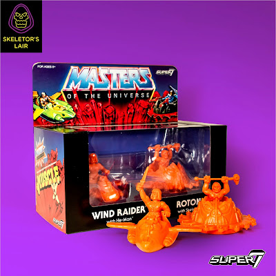 San Diego Comic-Con 2017 Exclusive Masters of the Universe M.U.S.C.L.E. 4 Pack by Super7