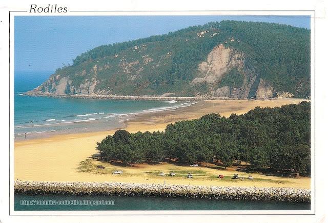 Postcard from Spain   Rodiles, Asturias