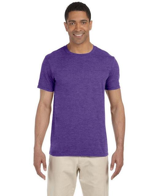 GildanG640 Mens Soft Style T Shirt (60 Colors)