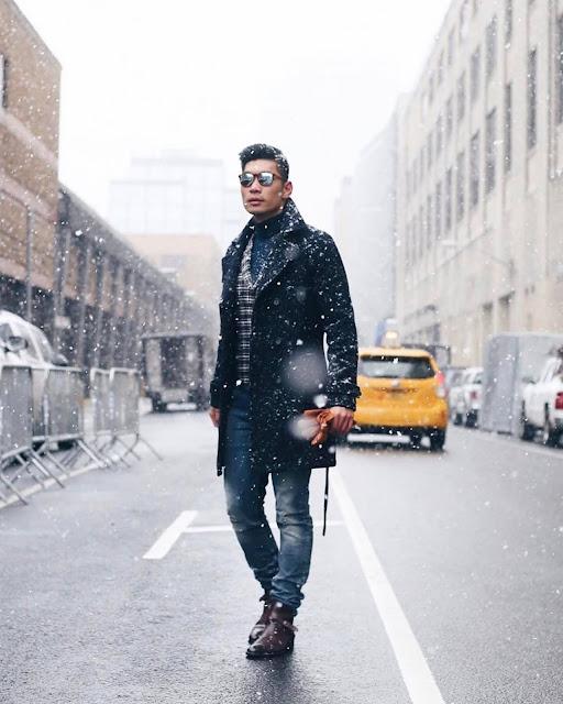 Winter Style Roundup for Men - Topman Topcoat Leo Chan