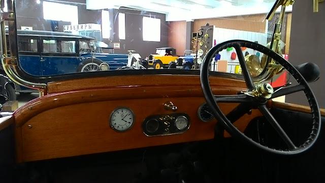 Fiat Valencia 505 вид из кабины