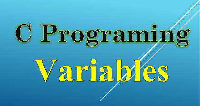 C Programming; Variables in C Programming | Introduction and Types, With Examples and Interview Questions