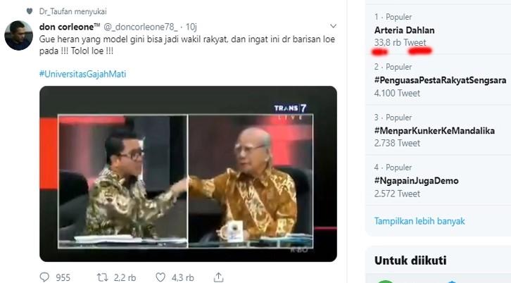Arteria Dahlan Dihujat Habis-habisan, Hingga Trending Topic di Twitter