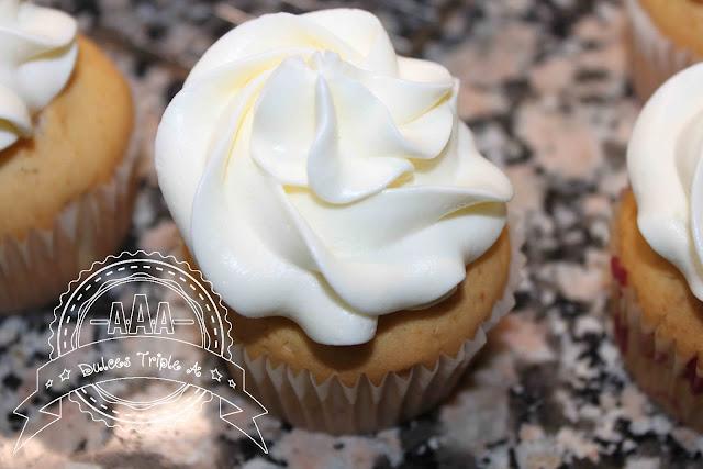 Cupcakes De Vainilla Con Crema De Queso