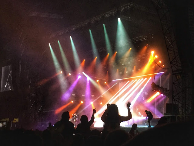 Catfish and the Bottlemen performing at the 2018 Glasgow Summer Sessions concert