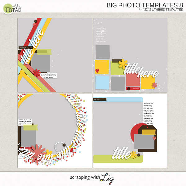 Big Photo Templates 8