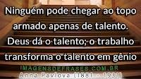 Frases sobre Talento, Esforço e Genialidade