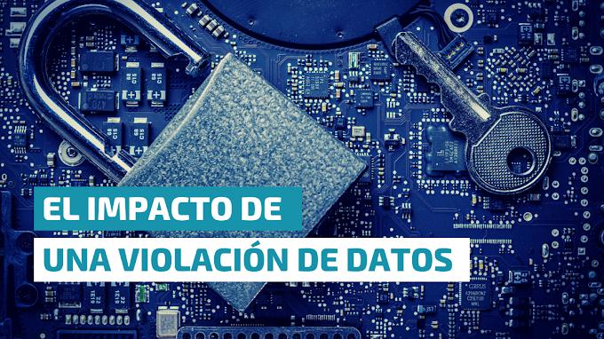 El impacto de una violación de datos