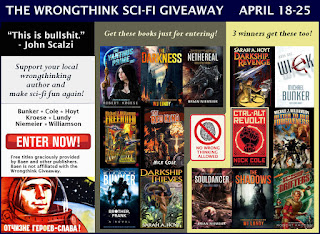 Wrongthink Sci-Fi Giveaway