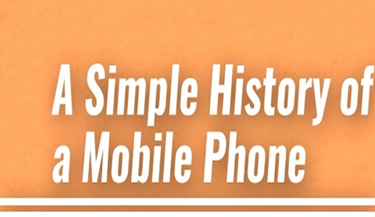 A simple History of a Mobile Phone #infographic