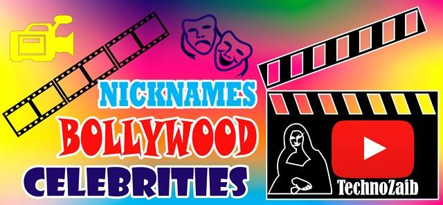 Entertaining Nicknames Of Bollywood Celebrities