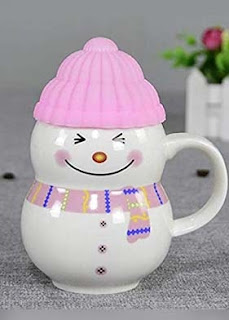 Gift for Girls,Christmas Gift,Snow Boy Coffee Mug, birthday gift for girls