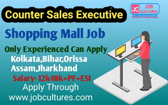 Counter Sales || Shopping Mall Job