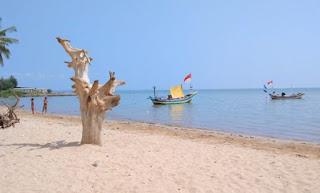 Pantai Kelapa Panyuran Jawa Timur