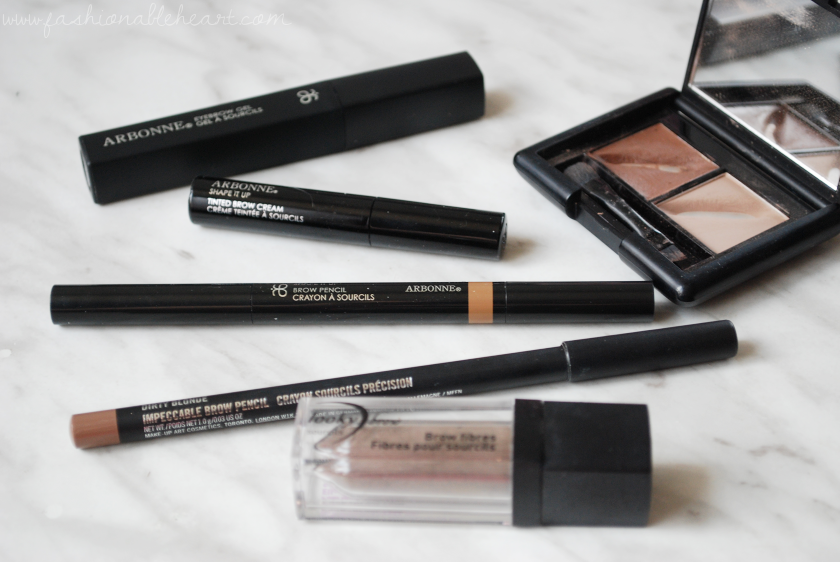 bbloggers, bbloggersca, canadian beauty bloggers, lifestyle blogger, beauty blog, best posts of 2017, favorite posts of 2017, makeup, skincare, reviews, swatches, fashion, toronto blogger, arbonne, arbonne canada, mac, looky brow, elf, eyeslipsface, favorite eyebrow products, gel, cream, pencil, powder, fibers