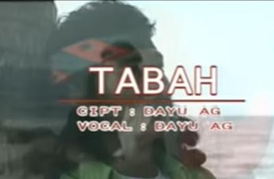 Lirik Lagu Tabah - Dayu Ag [OFFICIAL]