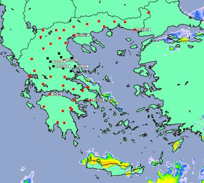 3 - Υψηλές θερμοκρασίες, ομίχλες και λίγες βροχές (+XAΡΤΕΣ ΥΕΤΟΥ)