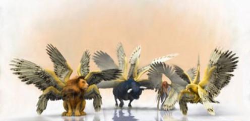 Entenda o Significado dos Quatro Seres Viventes do Apocalipse