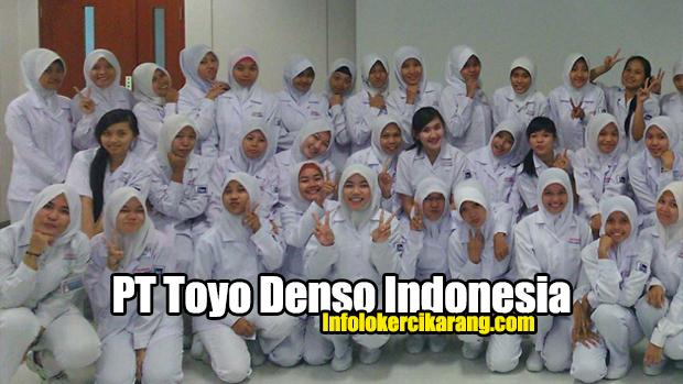 Lowongan Kerja Pt Toyo Denso Indonesia Itec 2021 Info Loker Cikarang