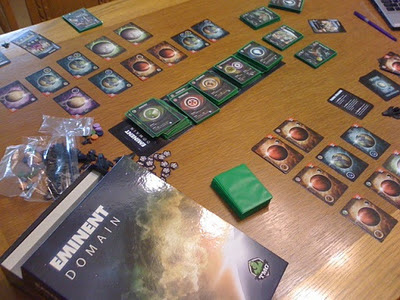 Eminent Domain game in play