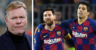 Barca manager Koeman revealed what he told Messi when time came to sell Suarez