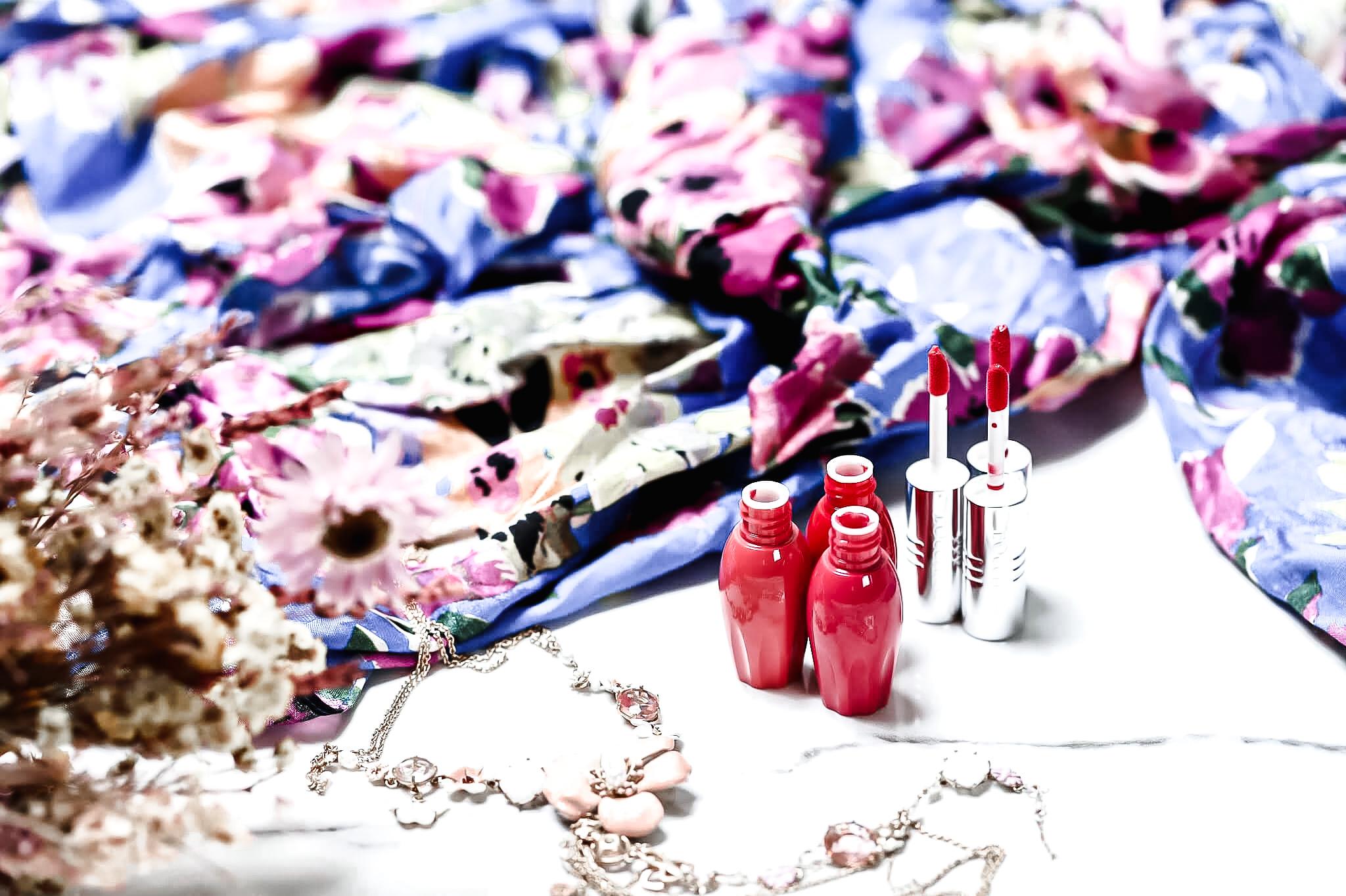 L'Occitane Rouge de Fruit 002 Carrose 003 Spring Sunrise 004 Pomelove