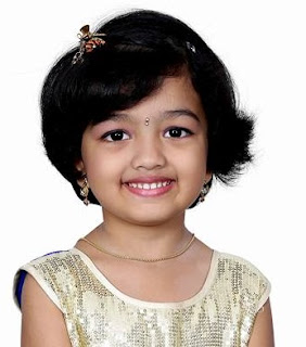 Child Actress Adhitri Guruvayoorappan in Nandhini Serial