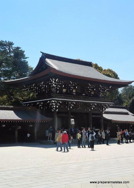 visitar santuario meiji