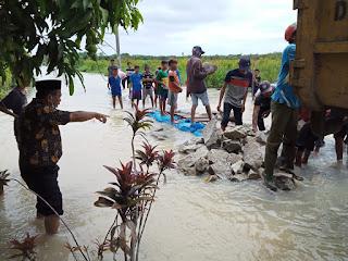 Banjir di Medang Deras, Kadis PUPR Batu Bara : Excavator Ampibi Belum Bisa Bekerja