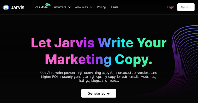 jarvis ai best copywriting software