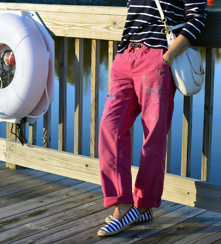 Nautical stripes