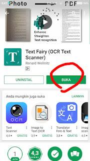 Buka Fairy Text