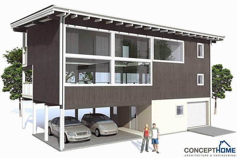 CH98 Raised Beach House Plan | Beach House Plans