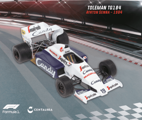 LE GRANDI FORMULA 1 TOLEMAN TG184 1984