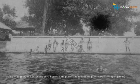 Sejarah Pemandian Moga, Tempat Mandi Tuan & Noni Belanda