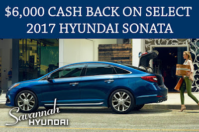 Savannah, GA Hyundai Sonata best price, $6000 cash back