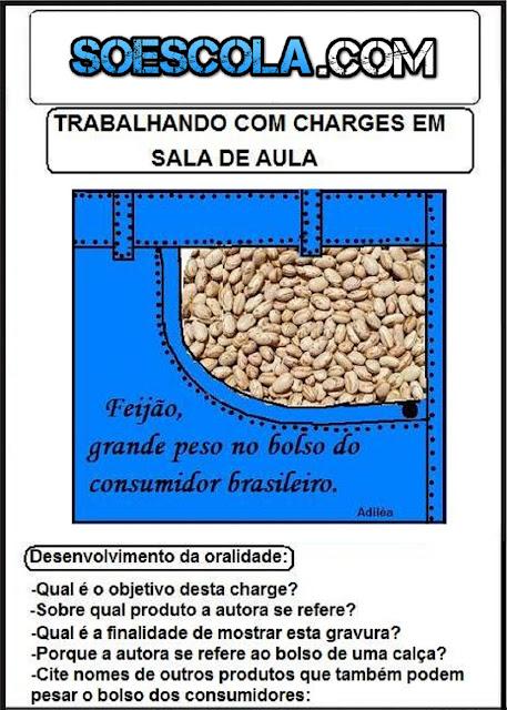 Charges em sala de aula - Atividades para Imprimir