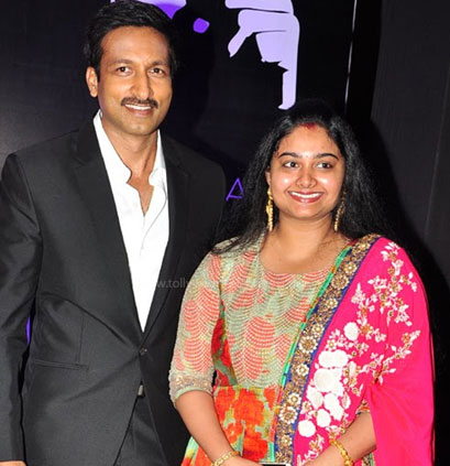 Gopichand and his wife: