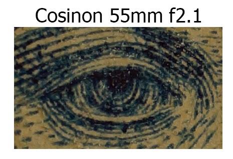 Cosinon 55mm f2.1