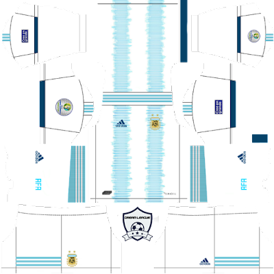 argentina 2019 copa america home kit dls 2