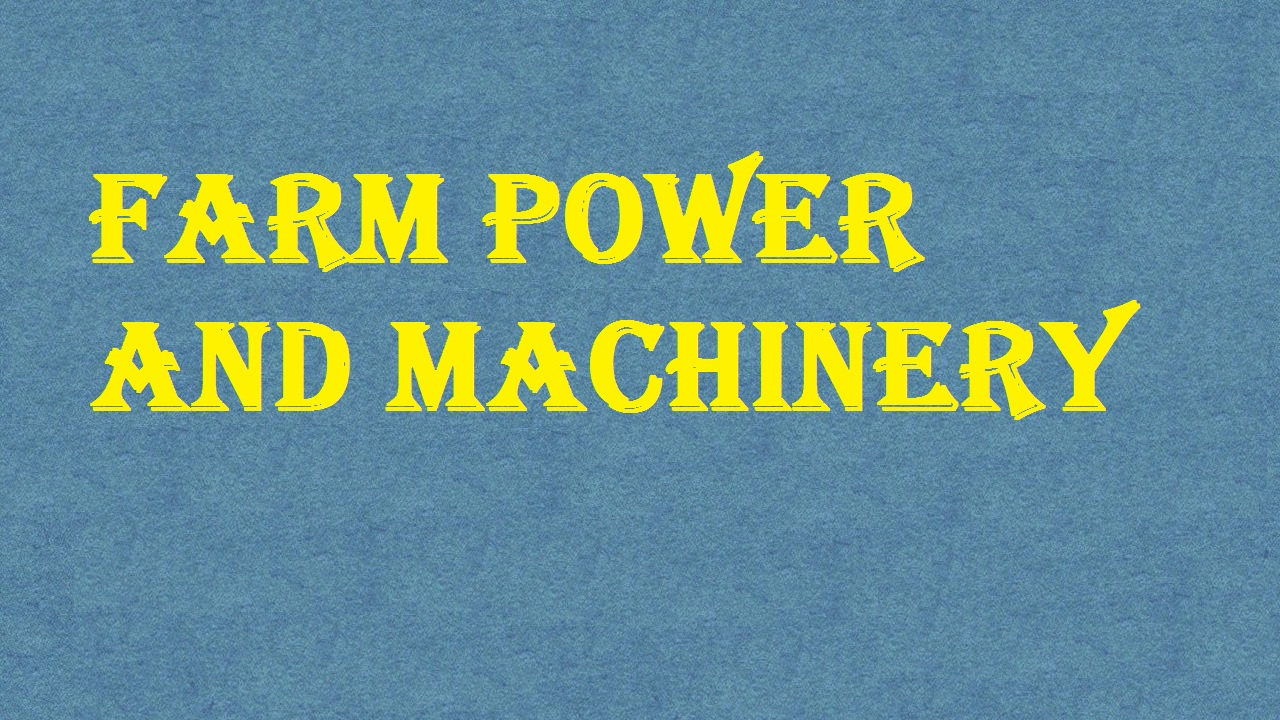 Farm Power And Machinery ICAR E course Free PDF Book Download e krishi shiksha