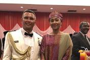 Keluarga Presiden Nigeria Hadiri Acara Resepsi Diplomatik TNI