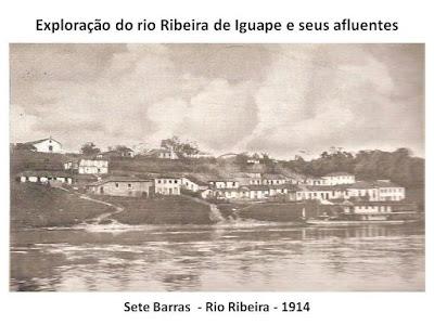 Colonização e História de Sete Barras.