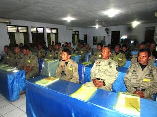 Digelar, Pelatihan Petugas Tindak Internal  Sat Pol PP Kabupaten Bima