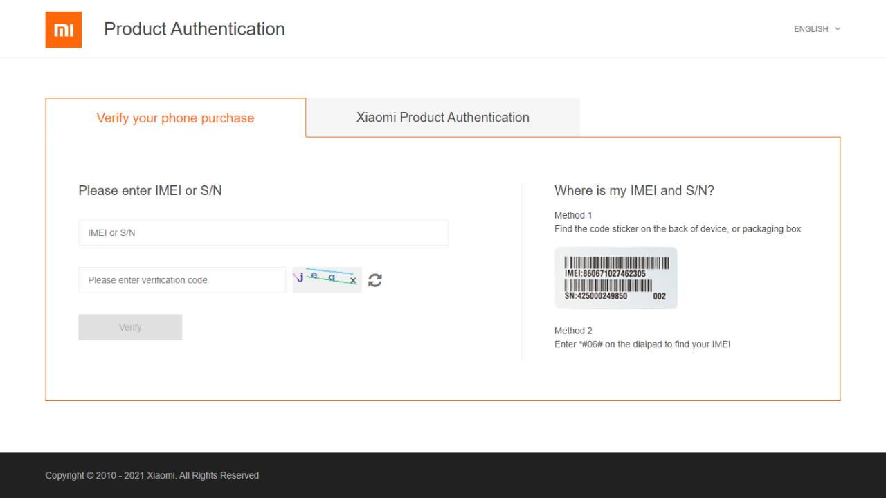 Cara Cek IMEI Xiaomi di Database Kominfo dan Xiaomi Account