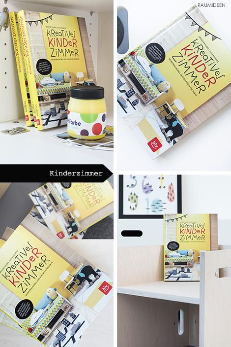 Kreatives Kinderzimmer, ein Buch mit Ideen zum Selbermachen.