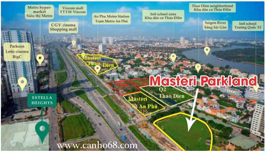 Masteri Parkland Quận 2 vì sao nên đầu tư